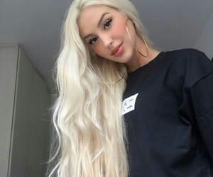 blonde, cabelo, and fashion image