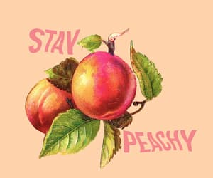 peach, aesthetic, and art image