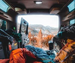 car, cold, and escape image