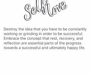 self love, self care, and love image