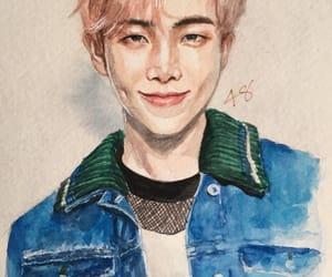 art, rm, and kim namjoon image