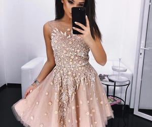 dress, prom dress, and homecoming dress image