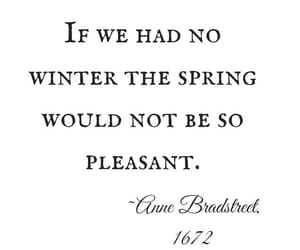 quote, spring, and typography image