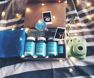 blue, instax, and bottles image