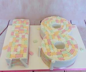 18, cake, and celebration image