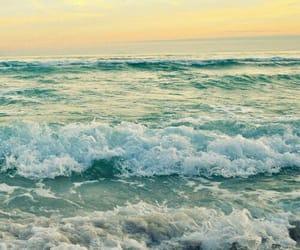 sea, ocean, and waves image