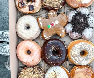 donuts, doughnuts, and sweet image