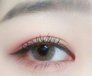 korean, makeup, and eye image