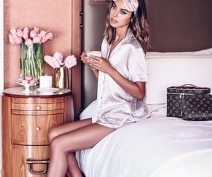 beauty, bed, and fashion image