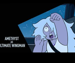 steven universe and amethyst image