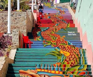 stairway, art, and mexico image