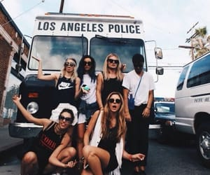 friends, friendship, and los angeles image