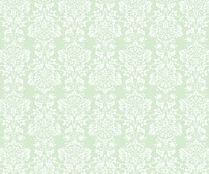 background, damask, and floral image