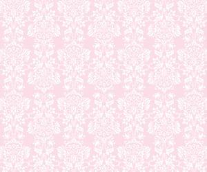 background, damask, and flower image