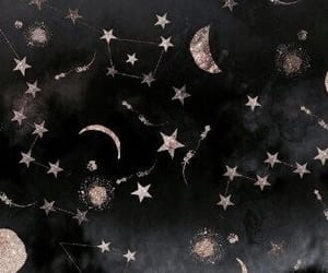 aesthetic, silver, and stars image
