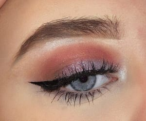 eyes, eyeshadow, and makeup image