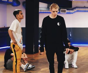 prettymuch, austin porter, and edwin honoret image