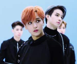 haechan, nct, and jungwoo image