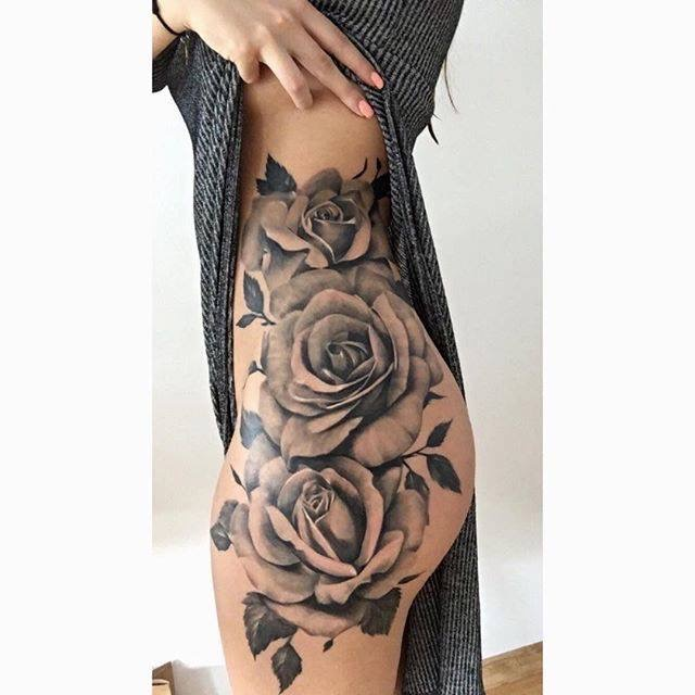 How Much Would This Rose Tattoo Cost Quora