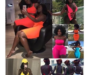 bright colors and melanin image