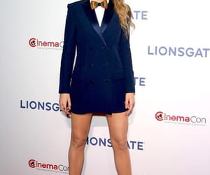 actress, blake lively, and black coat image