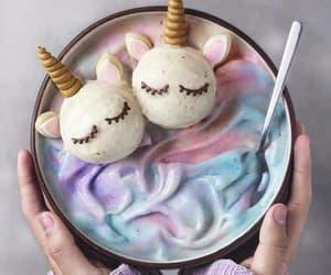unicorn, food, and yummy image