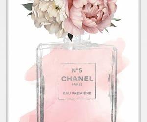 chanel no 5, girly, and perfume image