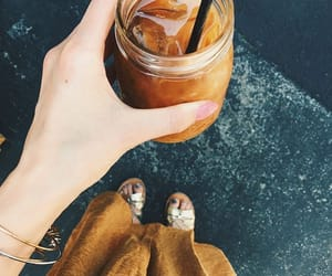 aesthetic, carefree, and coffe image