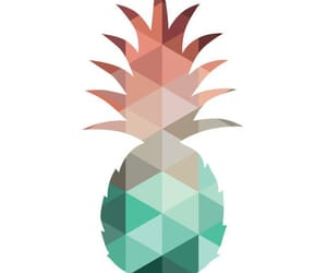 coral, mint, and pineapple image