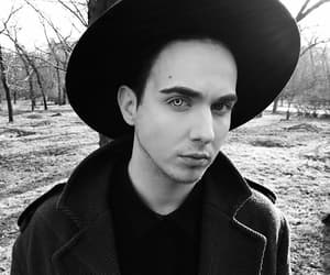 black, cool, and hat image