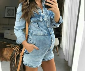 clothes, fashion, and pregnancy image