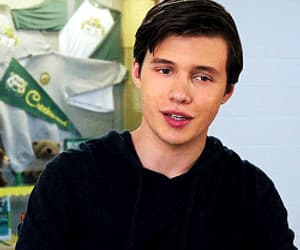 actor, funny face, and nick robinson image
