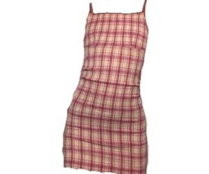 dress, gingham, and plaid image