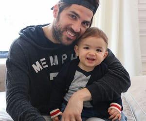 baby, boy, and cesc fabregas image