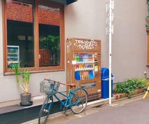 aesthetic, bike, and green image