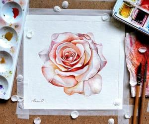 art, goldrose, and illustration image