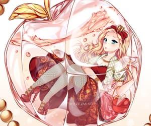 digital art, anime drawing, and kawaii anime image