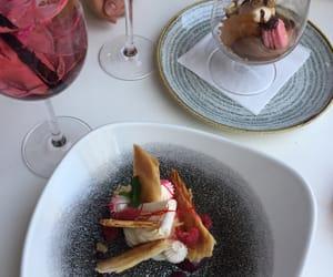 dessert, fancy, and drink image