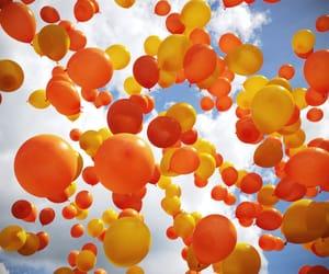 balloons and orange image