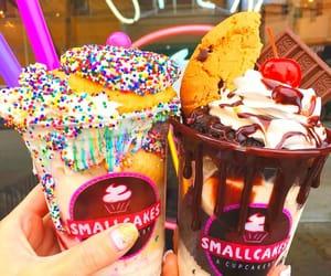 sweet, ice cream, and chocolate image