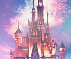 castle, colourful, and disney image