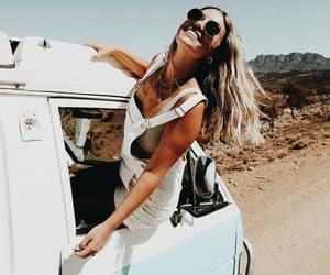 girl, travel, and fashion image