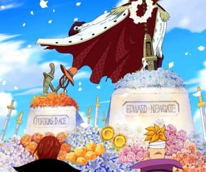 one piece, shanks, and anime image