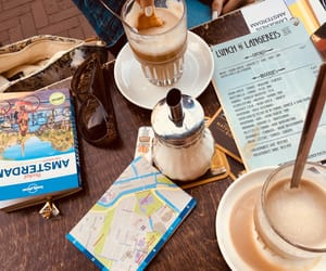 amsterdam, caffee, and summer image
