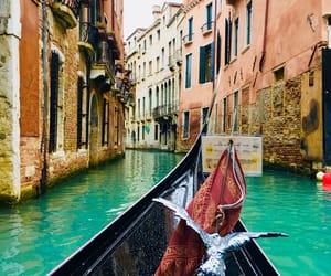 beautifull, gondola, and italy image