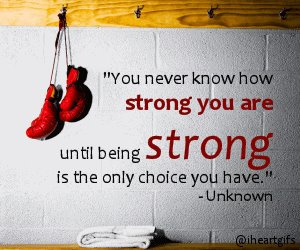 quote and strong image
