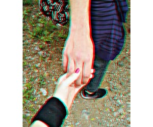 couple, hands, and princess image