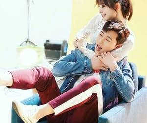 park seo joon and kim ji won image