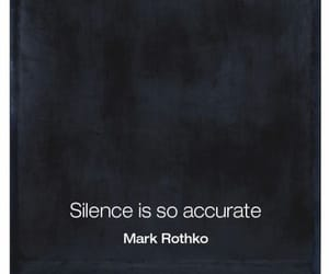 letters, quote, and silence image