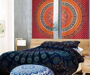 mandala tapestry, mandala roundie, and big tapestries for sale image